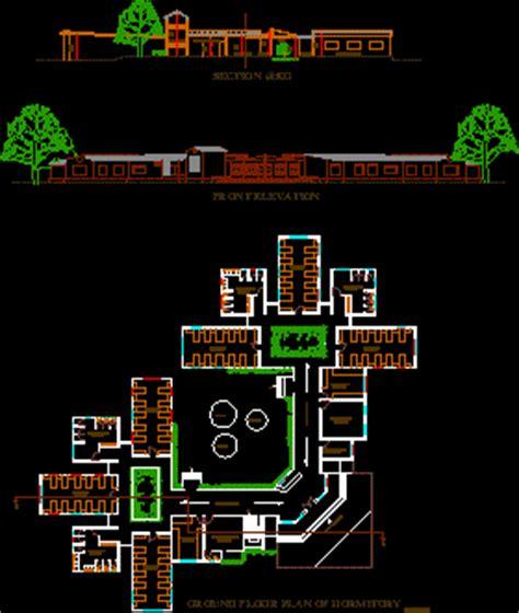 dormitory dwg block  autocad designs cad