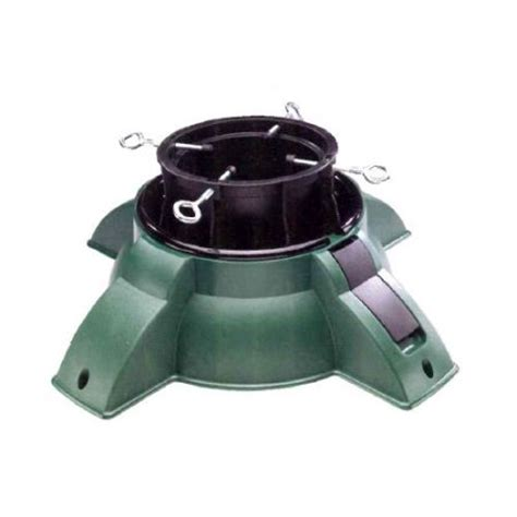 24 quot heavy duty green pivot christmas tree stand for real
