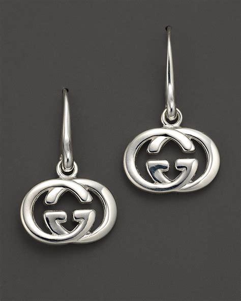 """Gucci Sterling Silver """"Britt"""" Earrings   Bloomingdale's"""