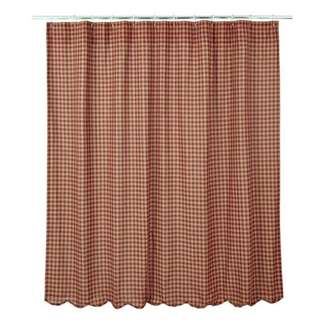burgandy shower curtain burgundy check shower curtains www bestwindowtreatments com