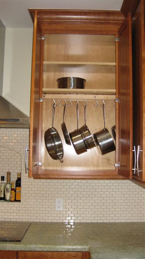 Cabinet Pot Rack Hanging Pot Rack In Cabinet Pots And Pans