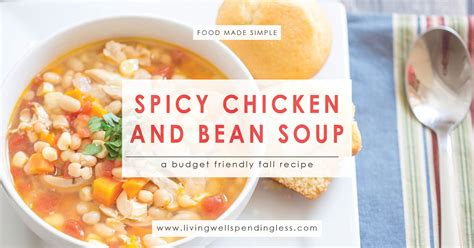 bean soup books spicy chicken and bean soup freezer friendly fall soup