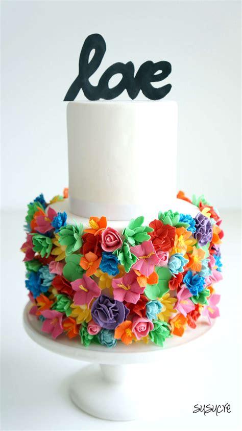 Colorful Wedding Cakes by Colorful Wedding Cakes Www Pixshark Images