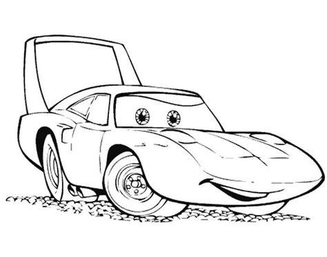 Boneka Mcqueen disney cars coloriage