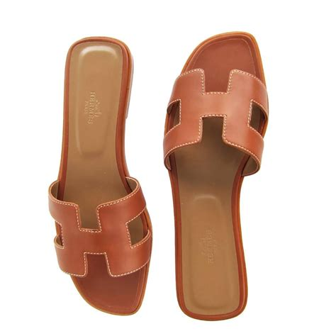 Sandal Hermes Putih 2 hermes gold oran box leather sandals shoes size 40 or 3 9 iconic at 1stdibs