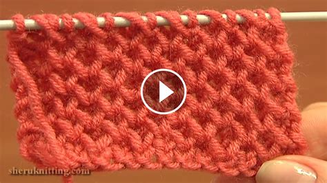 knitting honeycomb crochet knit by beja free patterns how to