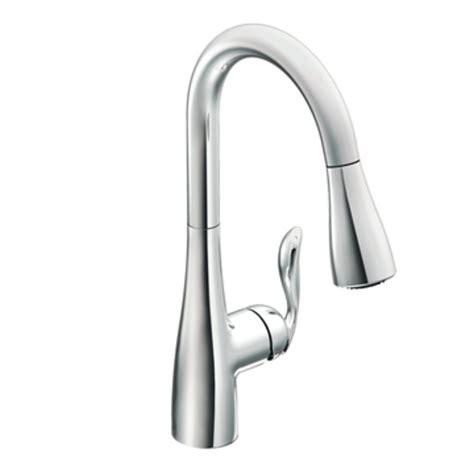 Amazon.com: Moen 7594C Arbor One Handle High Arc Pulldown Kitchen Faucet, Chrome: Home Improvement