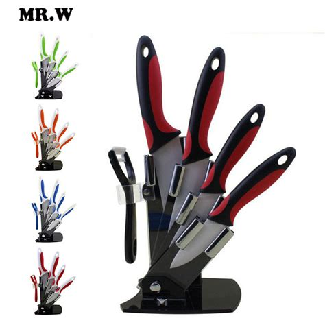 aliexpress com buy high quality ceramic knife set chef s brand mr w high quality ceramic knife set 3 inch 4 inch