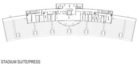 Football Stadium Floor Plan by Crusader Stadium Campus Master Plan Umhb The