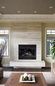 Houzz Fireplace Ideas Floating Bench