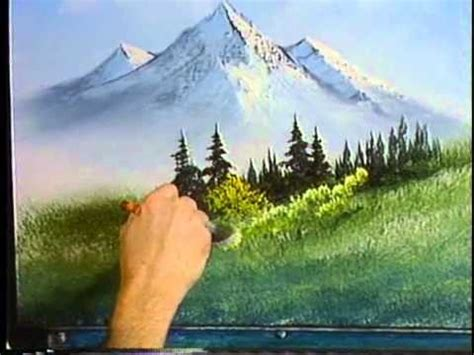 bob ross painting on canvas episodes bob ross the of painting episode s2 e1 meadow