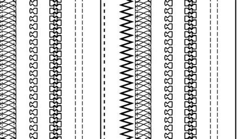 zipper pattern photoshop zipper brush illustrator
