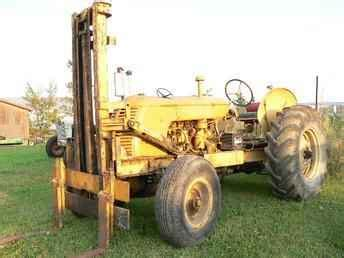 Used Farm Tractors For Sale 1955 Cockshutt 30 Forklift