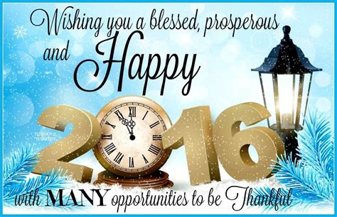 wishing you a blessed prosperous and happy new year 2016