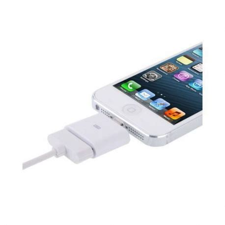 adaptateur iphone dock vers lightning iphone 5 mini ipod touch g5