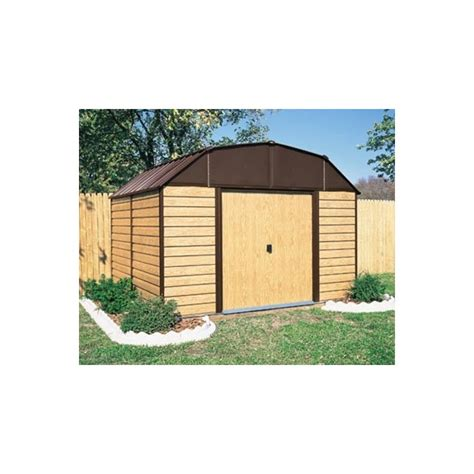 Arrow Shed 10x14 by Arrow Woodhaven 10x14 Shed Kit Wh1014
