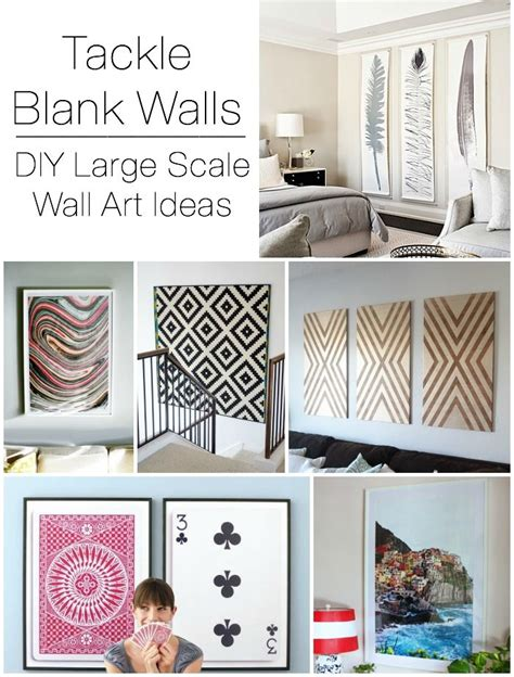 Decorating Ideas Blank Wall 1000 Ideas About Decorating Large Walls On