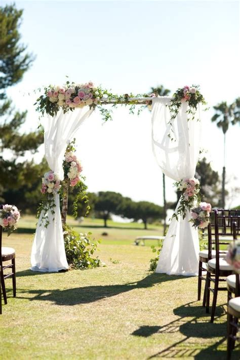 Wedding Arch Curtains by 10 Floral Arches For Your Wedding Ceremony Mywedding