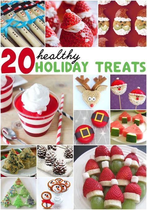 20 healthy holiday treats totally the bomb com