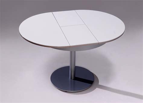 mesa redonda extensible blanca mesas redondas y extensibles