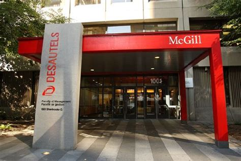 Mcgill Mba Ranking 2017 by Desautels Faculty Of Management Mcgill Emba Mcgill