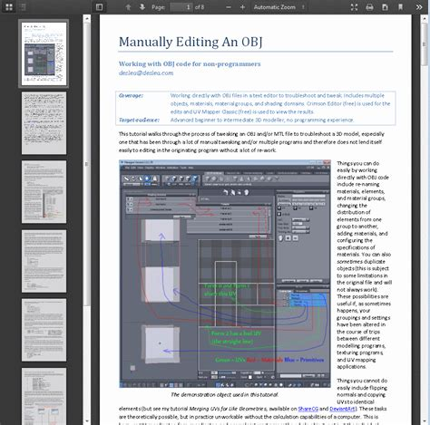tutorial edit website tutorial manually editing objs by deslea on deviantart