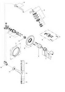 grohe shower handle parts order replacement parts for grohe 33625 classic shower