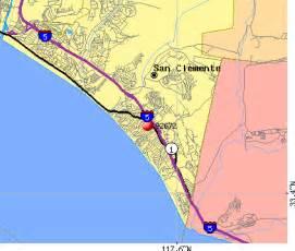 san clemente california map 92672 zip code san clemente california profile homes