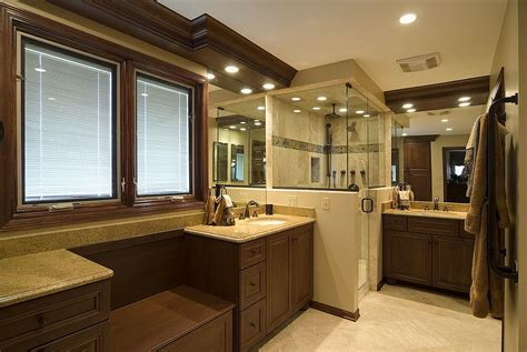 Traditional Bathroom Decorating Ideas Transitional Traditional Master Bathroom Interior Design Suburbs Of
