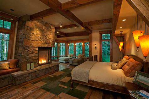 bedroom mountain rustic country bedroom