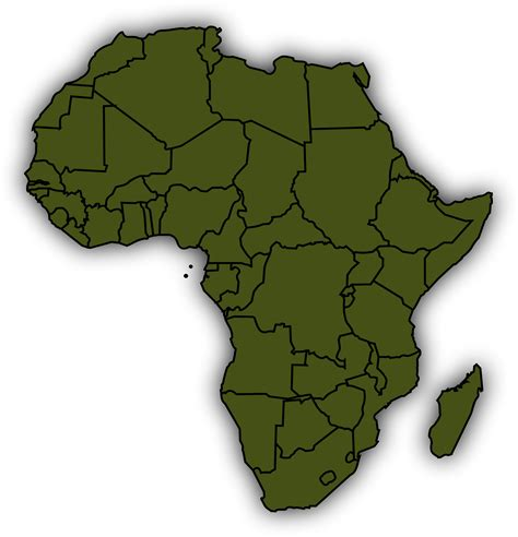 africa map clipart clipart basic africa map