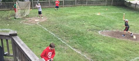 Backyard Baseball Wiffle The Backyard Boys Of Summer Enjoying Their Ft Mitchell