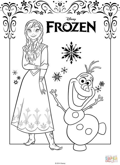anna coloring pages pdf kolorowanka anna i olaf kolorowanki dla dzieci do druku