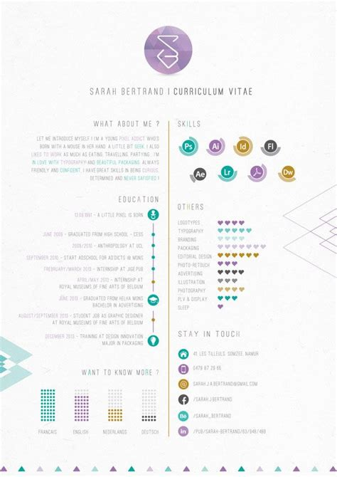 25 best ideas about graphic designer resume on resume layout cv and resume layout