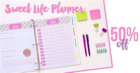 sweet life printable planner serenity edition planner peek becky i heart planners