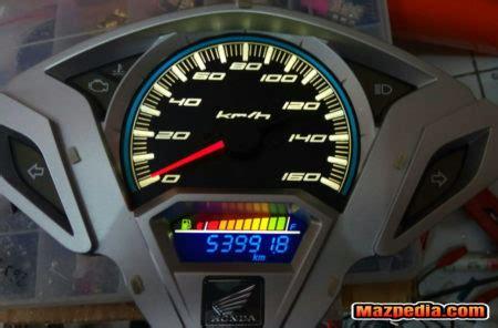wiring diagram pin out speedometer vario 125 150