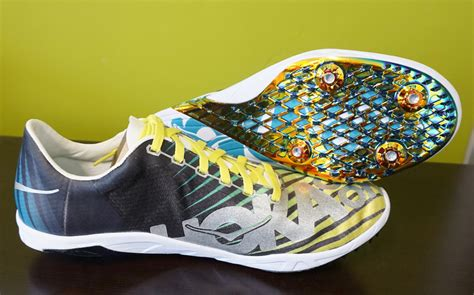 athletes running shoes hoka one one speed evo r spike running shoe review