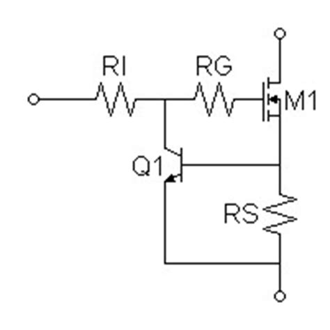 transistor limiter simple current limiter circuit simple free engine image for user manual