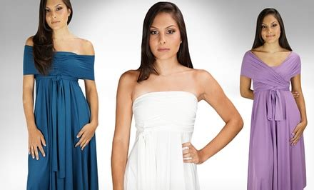 Bj 4387 Sling Dress Dress transformer dresses groupon goods
