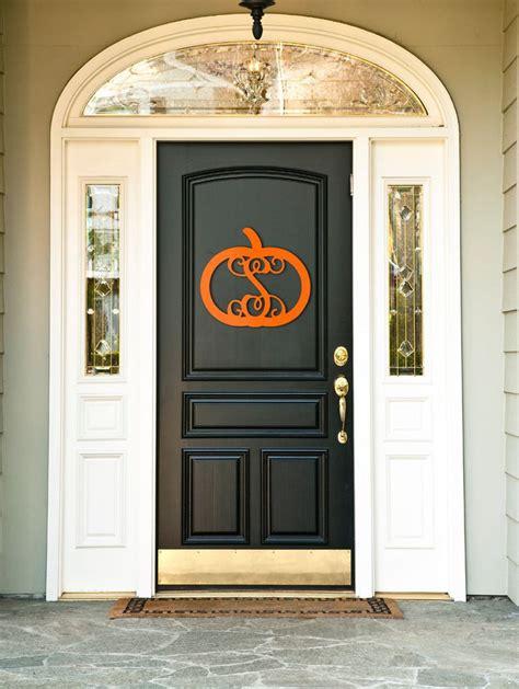 Wood Monogram For Front Door Pumpkin Monogram Fall Decoration For Front Door Or Wall Unfinished Wood Http Www
