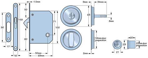 Bathroom Door Lock Measurements Satin Stainless Steel Bathroom Lock Turn And Release
