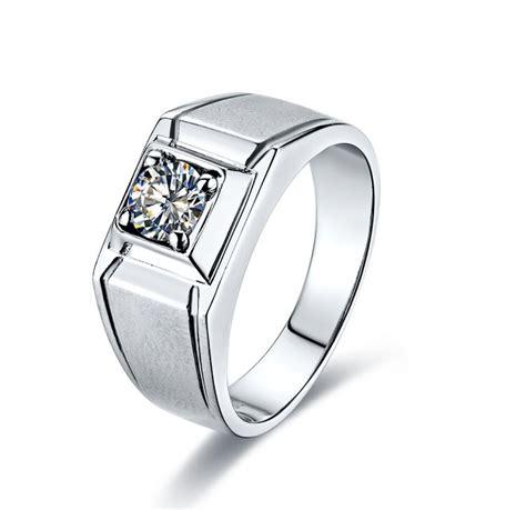 Cincin Berlian Fashion 084 Ct Ring Emas Putih 1 rings wedding promise engagement