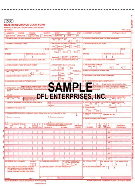 Ub 92 Form Images Search Pin Hcfa 1500 Image Search Results On