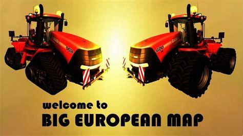 fs  big european map  beta   maps mod fuer farming simulator