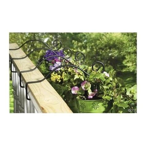 Deck Railing Planter Hooks by The Rail Deck Planters Woodworking Projects Plans
