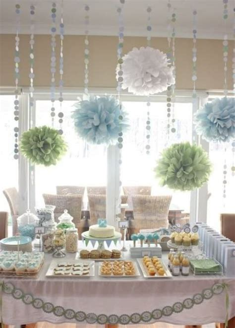 Baby Shower Decor For by 35 Boy Baby Shower Decorations That Are Worth Trying
