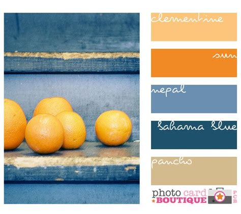 blue orange color scheme 17 best images about color on pinterest paint colors