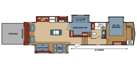 Keystone Floor Plans by Best Fifth Wheel For Fulltime Autos Post