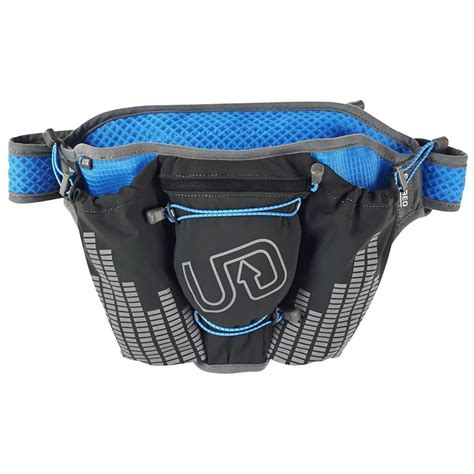 wearing a hydration belt ultimate direction groove stereo hydration belt steep