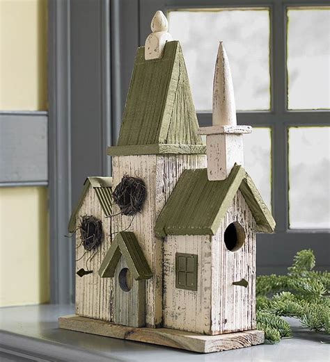 church birdhouse house   Google Search   CHURCH BIRDHOUSES